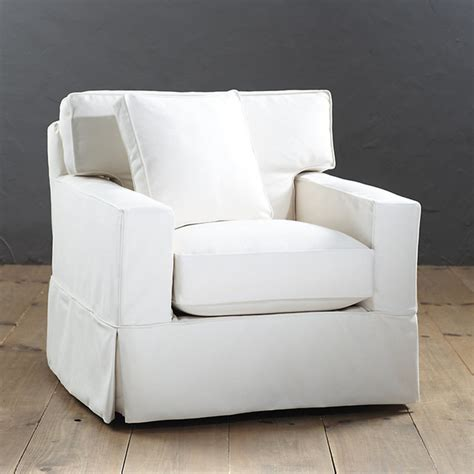graham swivel chair slipcover and frame traditional living room chairs by ballard designs