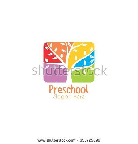 playgroup stock images royalty free images amp vectors 113 | stock vector playgroup preschool kindergarten logo template 355725896