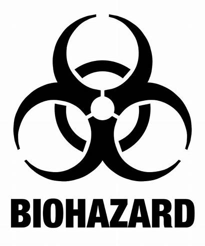 Biohazard Symbol Waste Toxic Transparent Level Symbols