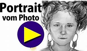 Wie Lerne Ich Zeichnen : portrait nach fotovorlage zeichnen lernen how to draw portrait from photo template youtube ~ Markanthonyermac.com Haus und Dekorationen