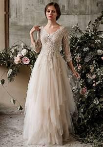 champagne bohemian wedding dress boho wedding dress long With used boho wedding dresses
