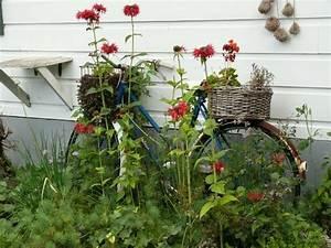 Strandfeeling Im Garten : kreative gartenideen deko aus altem fahrrad selber machen ~ Yasmunasinghe.com Haus und Dekorationen