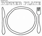 Plate Coloring Pages Dinner Seder Dishes Sheet Colouring Template Sc St Printable Colorings Getcolorings Empty Thanksgiving sketch template