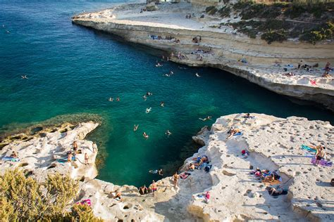 Best Time For Swimming At Saint Peter's Pool In Malta 2019