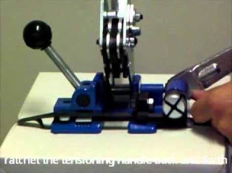 p mm combination strapping tool youtube