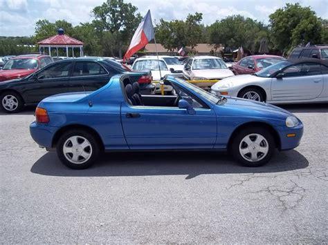 1994 Honda Sol 1994 honda civic sol information and photos