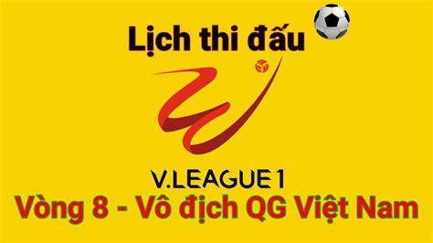 Trong khi đó, hagl được giới chuyên môn đánh giá sẽ có được 3 điểm trên sân của hà tĩnh. Lịch thi đấu V.League 2020-Vòng 8. - YouTube