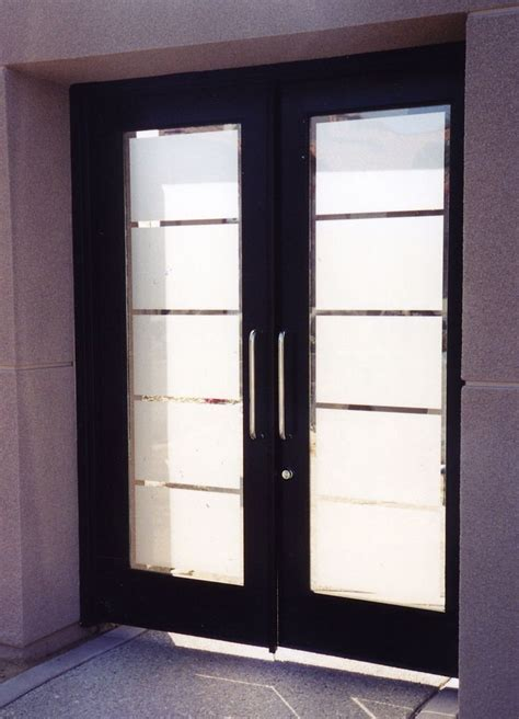 frosted glass doors contemporary glass designs by etched carved sans soucie