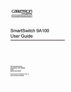 Cabletron Systems Smartswitch 8000 User Guide