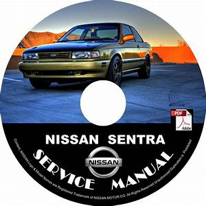 1993 Nissan Sentra Service Repair Shop Manual On Cd Fix