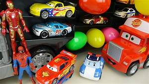 Heroes Cars Truck And Robocar Poli Surprise Eggs Car Toys