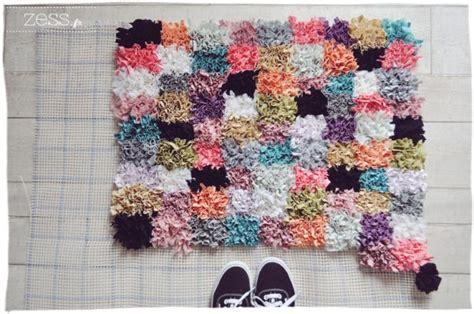 faire un tapis en diy comment faire un tapis soi m 234 me le meilleur du diy