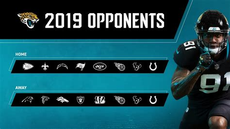 Jaguars Season Tickets by Jaguars 2019 Opponents Draft Position Set