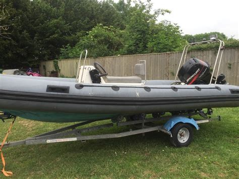 Boat Sales Exeter by 5m Rib For Sale 60hp Mercury 4 Stroke In Exeter