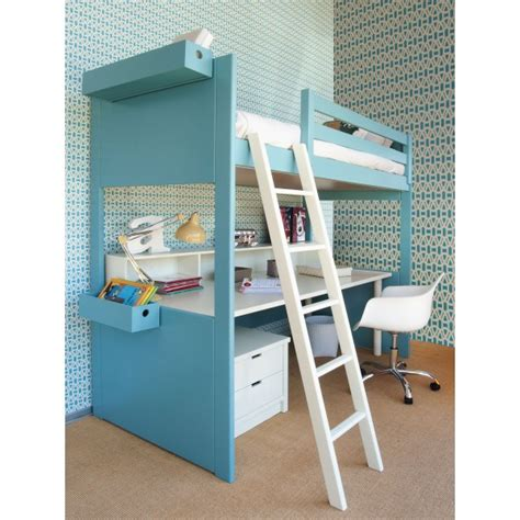 lit mezzanine fille avec bureau le meuble transformable ses évolutions de invention
