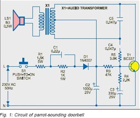 doorbell circuit diagram door bell circuit using ne555 jpg sc 1 st circuitstoday