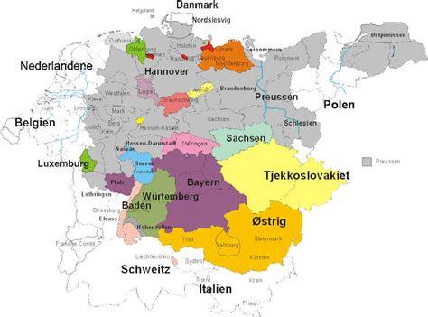 Kort Tyskland