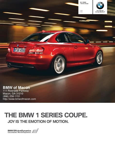 Bmw Of Macon by 2011 Bmw 1 Series Macon Ga Bmw Of Macon