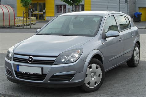 vauxhall astra opel astra h wikipedia