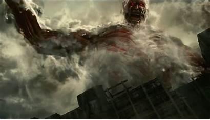 Titan Attack Action Background Stomps Onto Blu