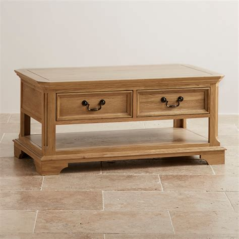 Small Dining Room Table Sets - edinburgh coffee table in natural solid oak oak furniture land