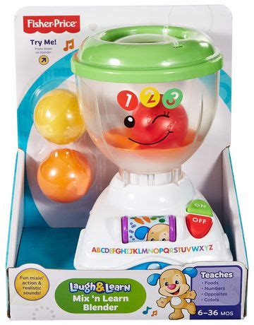 Playset Electronic Blender by Fisher Price Laugh And Learn Mix N Learn Blender Playset
