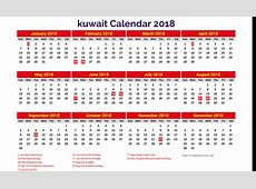 Get Free Templates Yearly Calendar 2019 Kuwait Holiday