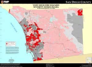 San Diego Fire Map