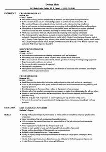 awesome crane operator resume format pictures inspiration With crane resume paper