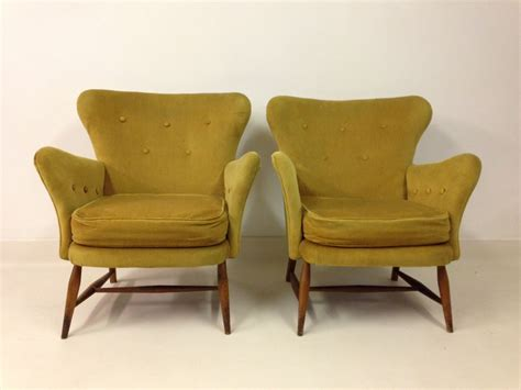 Vintage Armchairs From Ercol, 1950s, Set Of 2 For Sale At