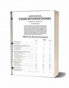 Case International 5120 5130 5140 Shop Manual