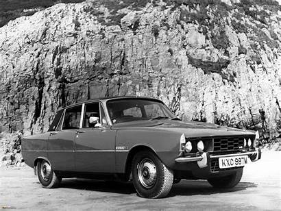 Rover P6 Grace Kelly 3500s Princess Accident