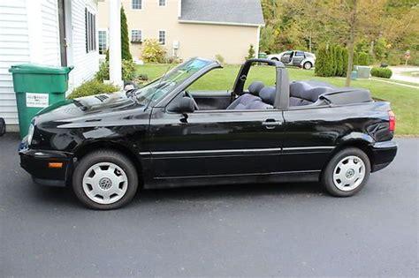 volkswagen convertible cabrio buy used black 1998 vw volkswagon cabrio convertible 5