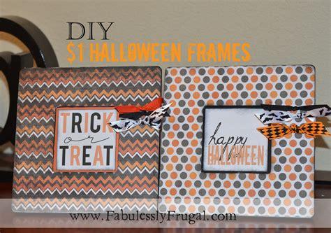 Diy  Halloween Frame & Free Halloween Printable