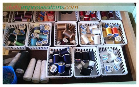 Plastic Dressers At Walmart by 12 Low Budget Ways To Organize Your Sewing Room