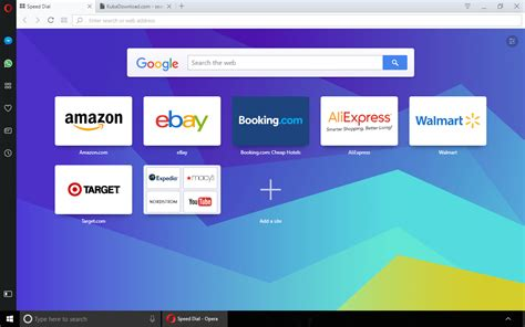 opera browser for windows