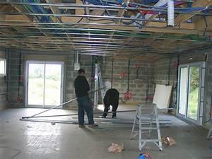 Couper Rail Placo : leplafond laconstructiondenotremaison ~ Melissatoandfro.com Idées de Décoration