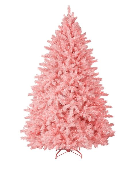 cotton candy pink christmas tree treetopia