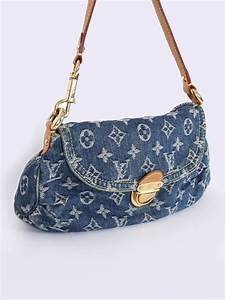 e77573a9606d Louis Vuitton Denim Tasche. louis vuitton tasche 39 denim neon ...