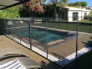 cloture securite beethoven prestige grise distripool With barriere de securite piscine beethoven