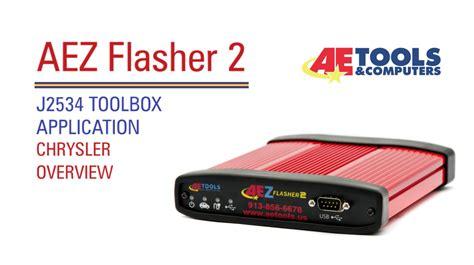 Chrysler Application by Aet 031 Aez Flasher 2 J2534 Toolbox Application