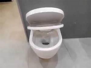 Villeroy Boch Avento : villeroy boch avento 5656hr01 rimfree wall hung toilet youtube ~ A.2002-acura-tl-radio.info Haus und Dekorationen
