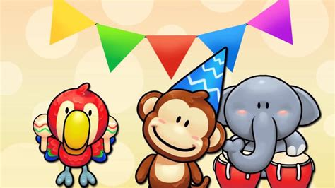 lagu selamat ulang  anak kartun happy birthday song youtube