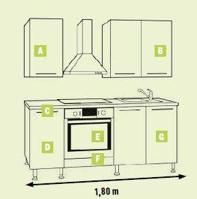 plan type cuisine les cuisines brico dépôt le des cuisines