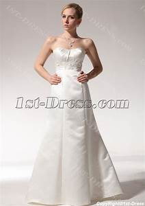 cheap simple sheath wedding dresses 2011 with sweep train With simple inexpensive wedding dresses