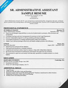 Network Engineer Objective Sample Senior Administrative Assistant Resume Resumecompanion