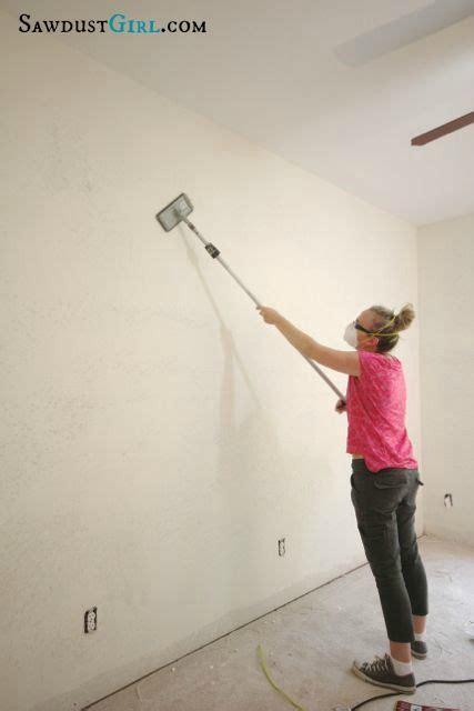 skim coat  remove wall texture textured walls