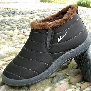 Boot Size Chart Women Winter Shoes Black Waterproof 2016 Female Ankle