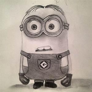 Late night minion drawing:) so cute   My Art   Pinterest ...
