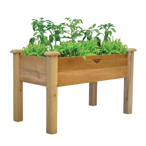 home depot garden table raised garden beds garden center the home depot